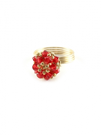 Ring by Ichiban - Daisies Lady in Red