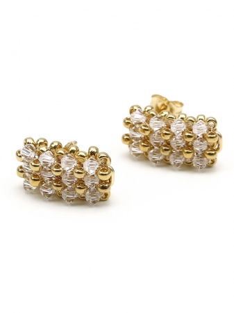 Business Crystal Clear - earrings