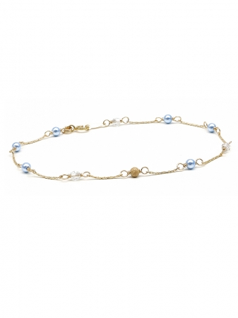 Prom Queen Light Blue - bracelet
