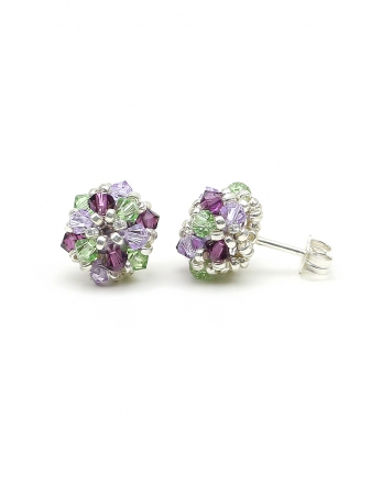 Daisies Free Spirit - stud earrings 925 Silver