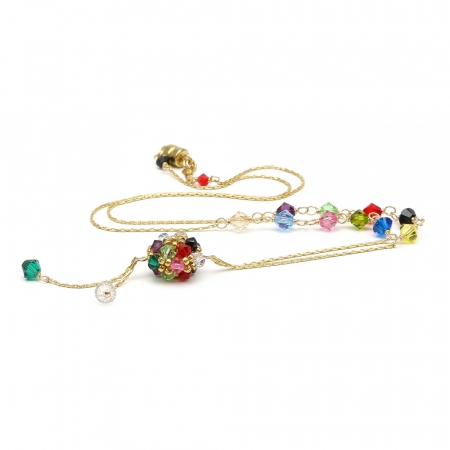 Daisies Multicolor - necklace