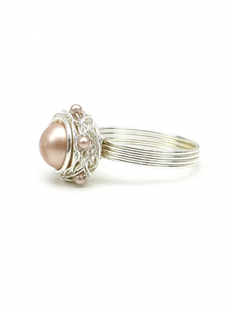 Sweet Almond - 925 Silver ring