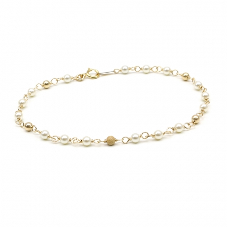 Executive Pearls Cream - bracelet