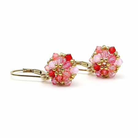 Daisies Tutti Frutti - leverback earrings