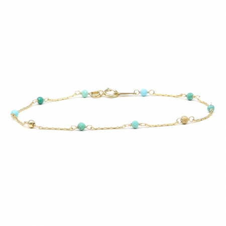 Lucky Charm Turquoise - bracelet