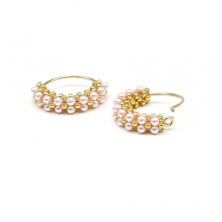 Primetime Pearls Rosaline - earrings