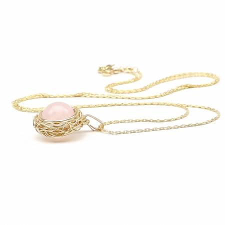 Sweet Quart Rose - pendant