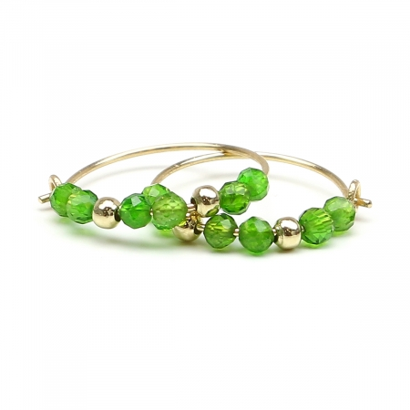 Cercei Ichiban - Simple Style Chrome Diopside AUR14 K