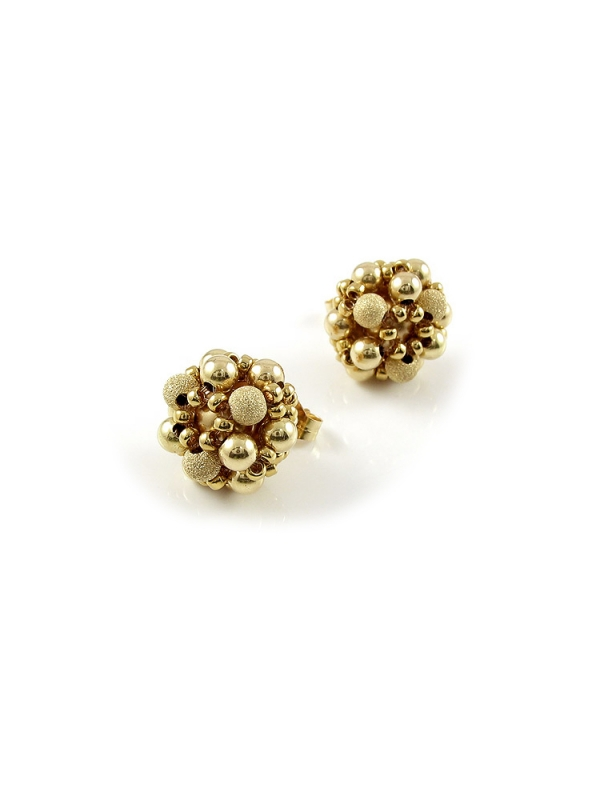 Stud earrings by Ichiban - Golden Daisies