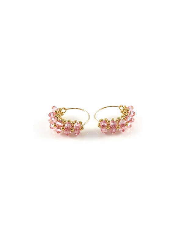 MiniDiva LightRose- earrings