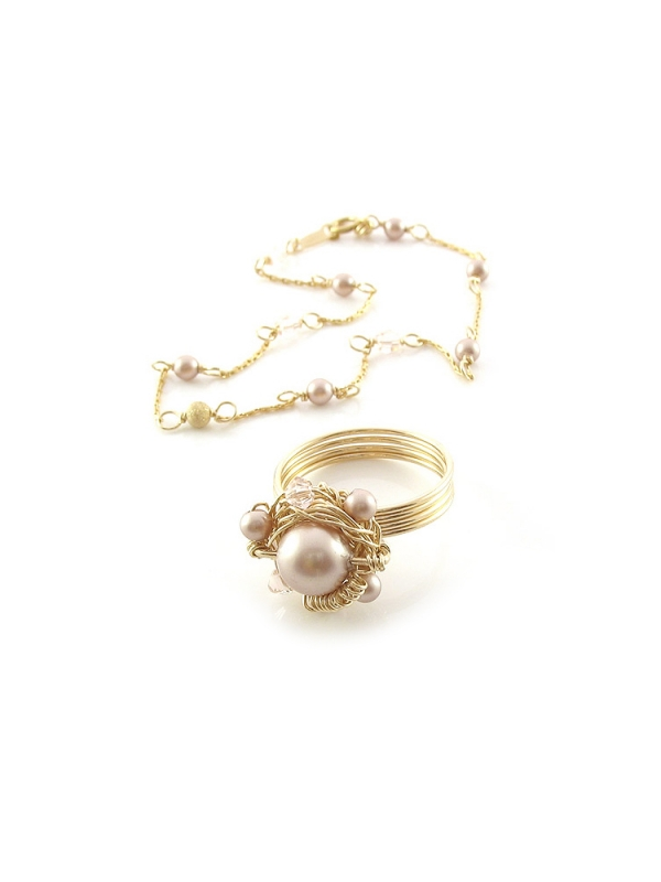 Set bracelet and ring by Ichiban - Prom Queen