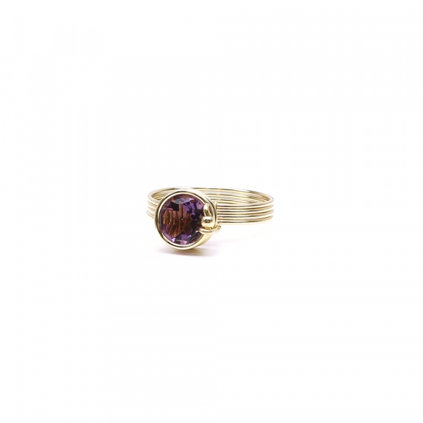 Busted Deluxe Brazilian Amethyst - ring