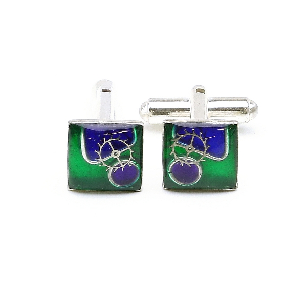 Cufflinks by Ichiban - Memories Alpha AG925 - Limited edition