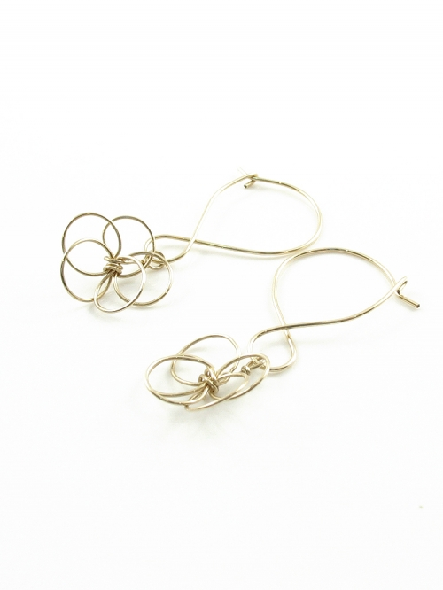Flower power - earrings