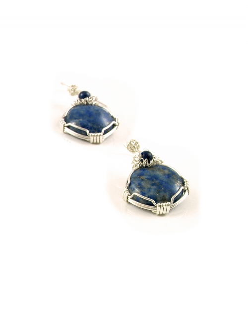 Dangle earrings by Ichiban - Lapis Lazuli