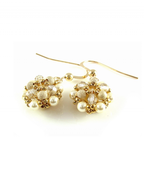 Daisies Stardust - earrings
