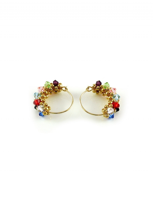 MiniDiva Multicolor - earrings