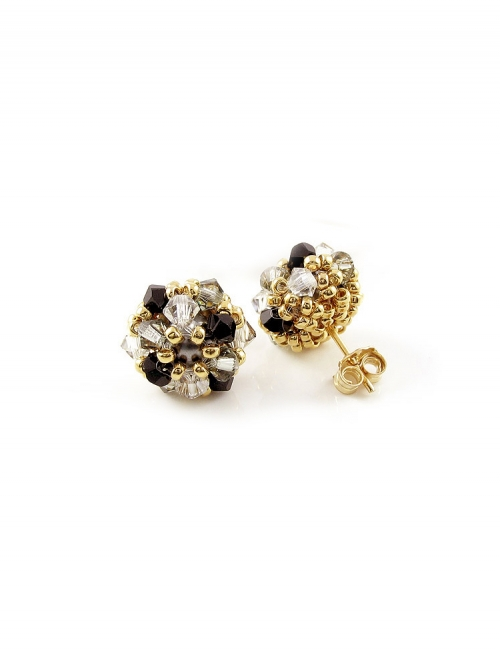 Daisies B Diamond - earrings