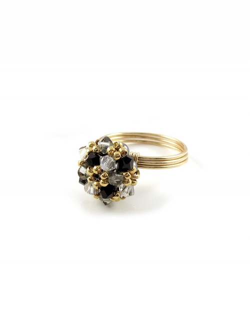 Daisies B Diamond - ring