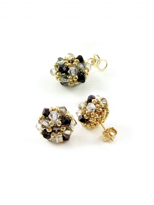 Set pendant and stud earrings by Ichiban - Daisies B Diamond