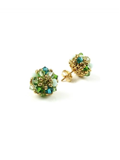 Stud earrings by Ichiban - Daisies Herba Fresca