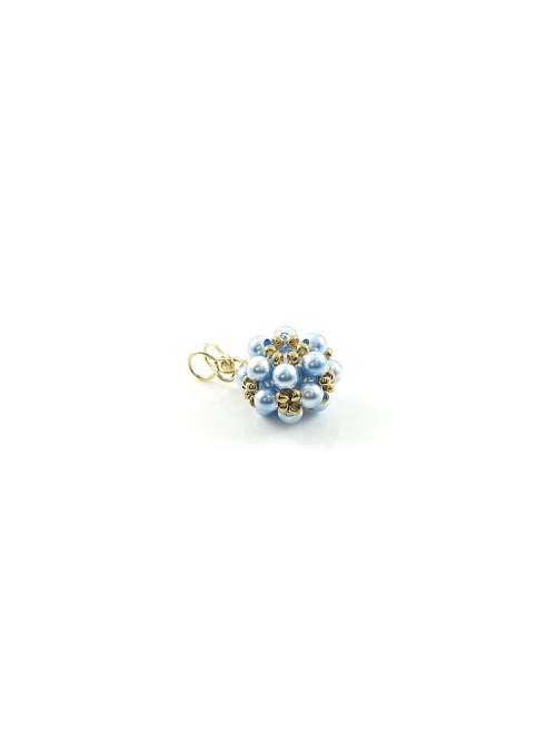 Daisies Light Blue - pendant