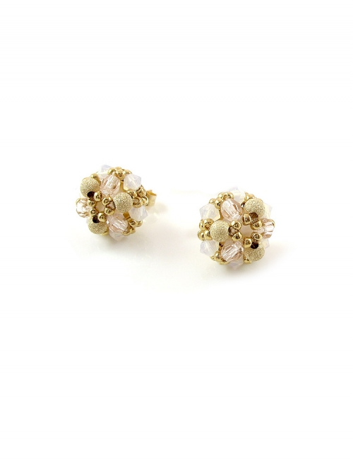 Daisies Ivory - earrings