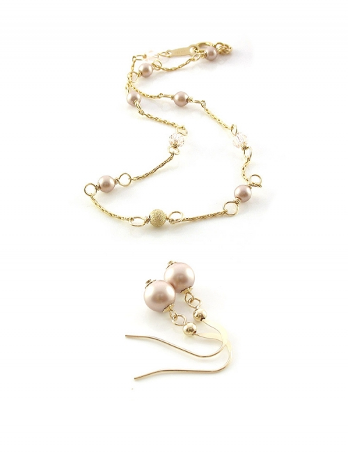 Set bracelet and dangle earrings by Ichiban - Prom Queen