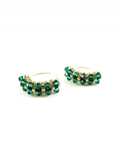 Minidiva Emerald - earrings