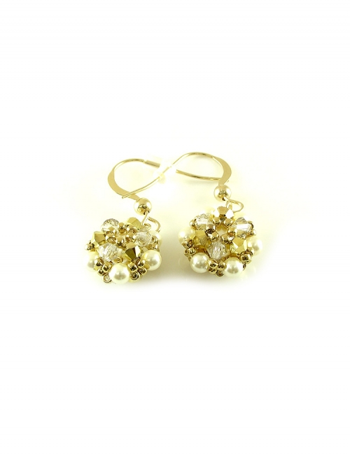 Daisies Aurum - earrings