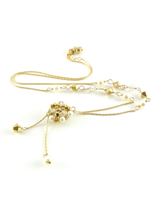 Daisies Aurum - necklace