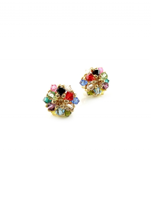 Daisies Multicolor - earrings