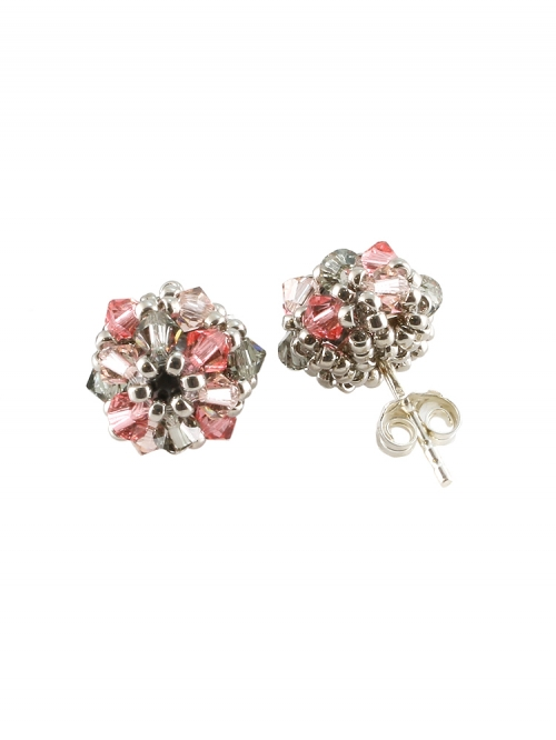 Stud earrings by Ichiban - Daisies Sweet AG925