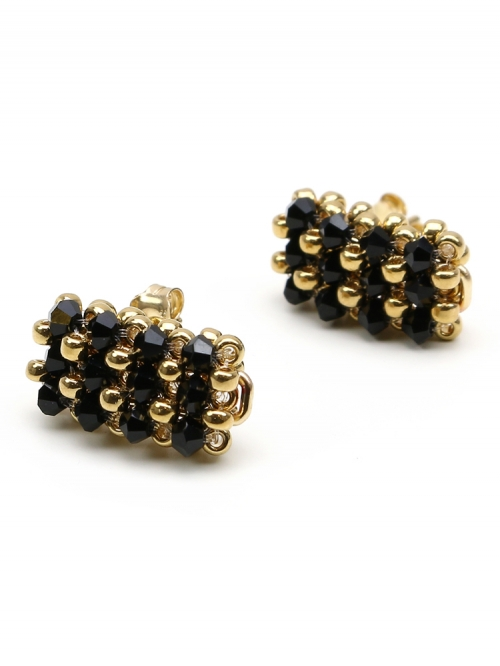 Business Black - earrings