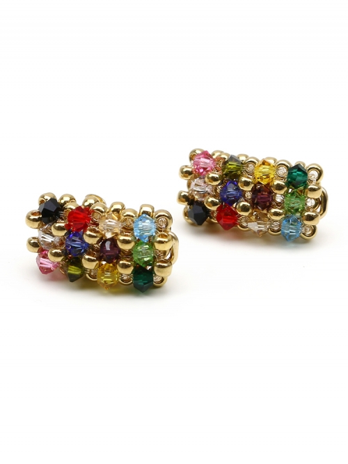 Business Multicolor - earrings