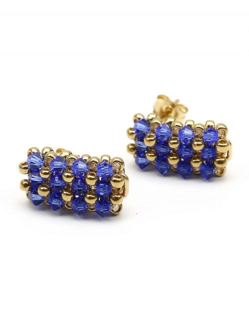 Business Sapphire - earrings