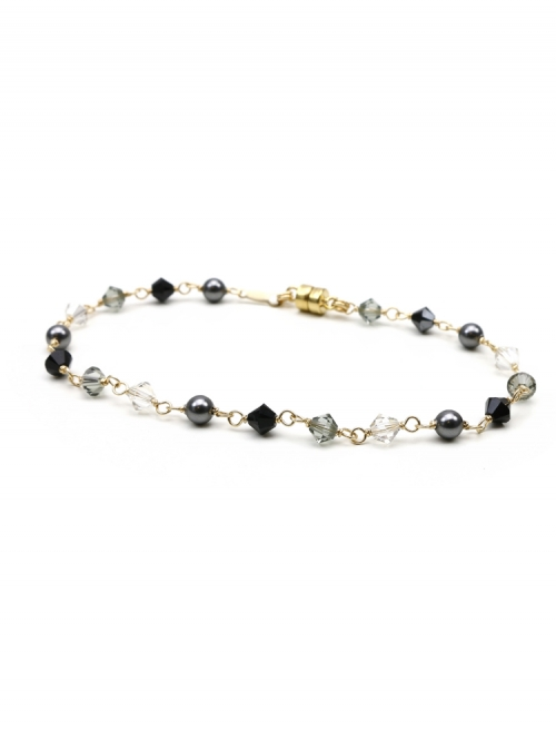 Luxury Black Diamond - bracelet