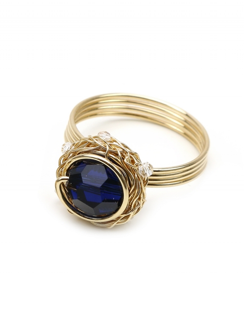 Sweet Dark Indigo - ring