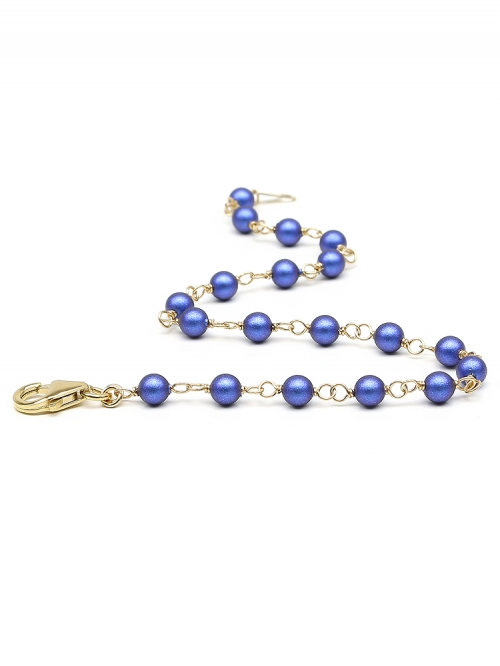 Luxury Iridescent Dark Blue - bracelet