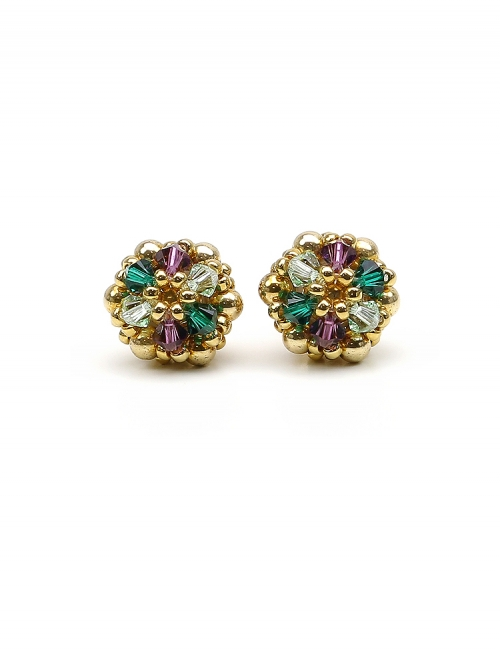 Stud earrings by Ichiban - Golden Daisies Special
