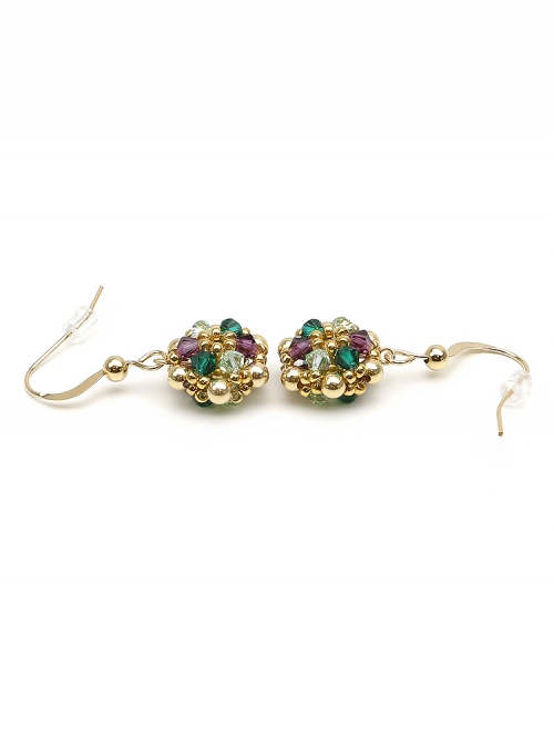 Golden Daisies Special - earrings