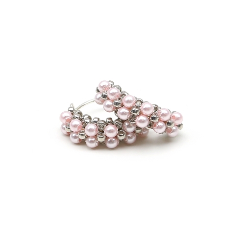 Minidiva Pearls Rosaline - earrings