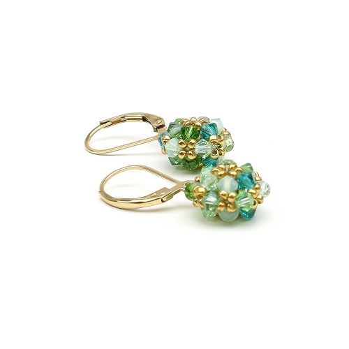 Daisies Herba Fresca - leverback earrings