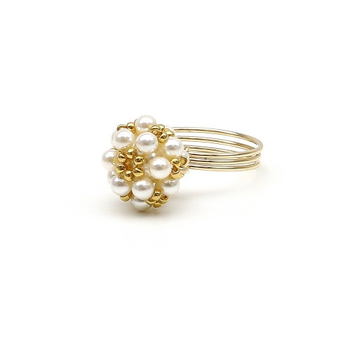 Daisies Creamrose Light - ring