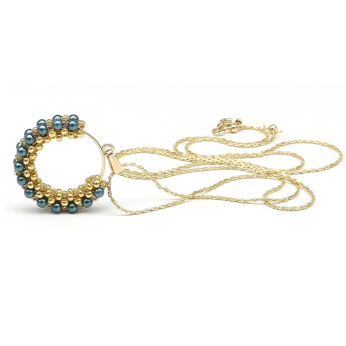 Swarovski pearls pendant for women - Primetime Pearls Tahitian