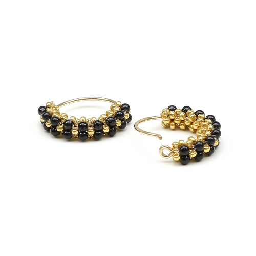 Primetime Pearls Mystic Black - earrings