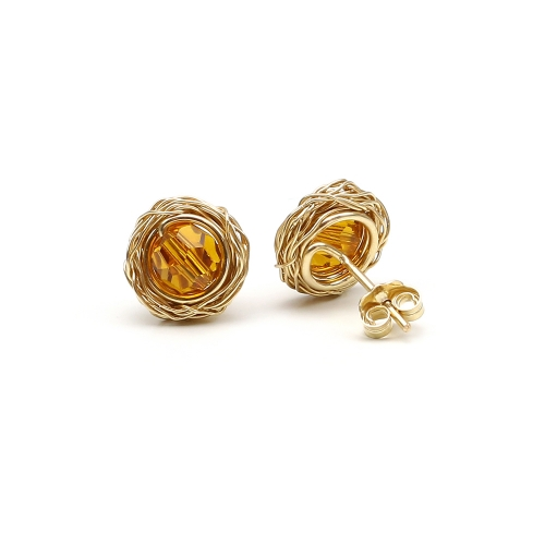 Stud earrings by Ichiban - Sweet Topaz