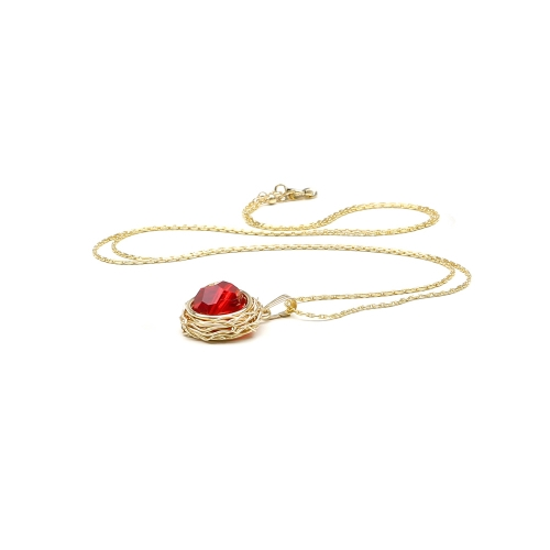 Swarovski crystal pendant for women - Sweet Passion