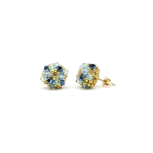 Daisies Spicy - stud earrings