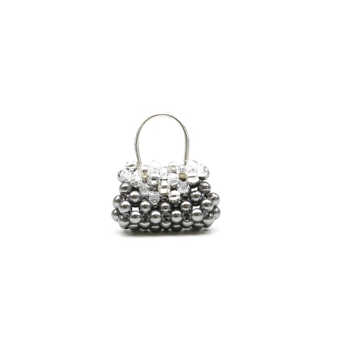Silver pendant with Swarovski pearls and crystals, for women - Mini FashionIT AG925